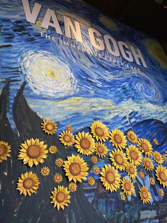 Experiencing Van Gogh in Atlanta