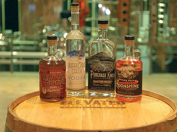 As with other distillers, Elevated Mountain Distilling's products are severely restricted in how they can be sold. File photo