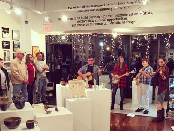 Creating a community: Haywood Arts celebrates 40 years