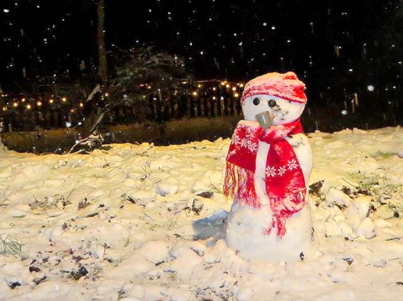 With snow comes the snow people. Don Hendershot photo