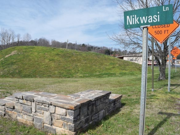 Franklin Town Council is considering approval of a deed to transfer the Nikwasi Mound property over the Nikwasi Initiative. File photo
