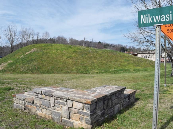 Franklin Town Council is considering deeding the Nikwasi Mound over to the nonprofit Nikwasi Initiative. File photo