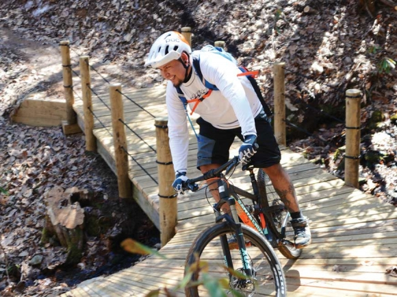 Making it awesome — Cherokee unveils 10-mile mountain biking system