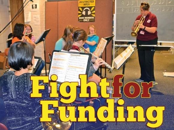 Swain fights to change school funding formula