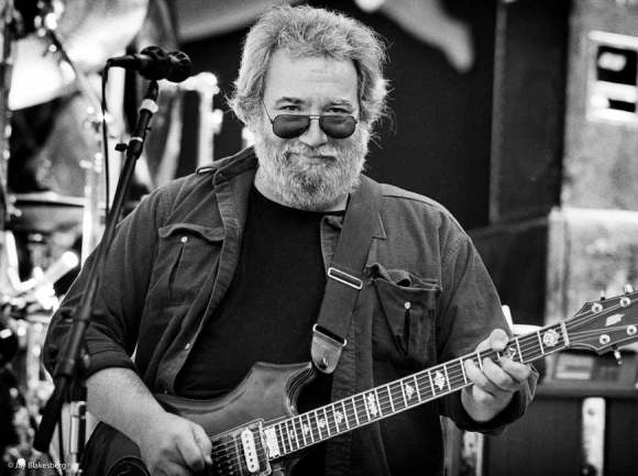Jerry Garcia of The Grateful Dead (photo credit: Jay Blakesberg)