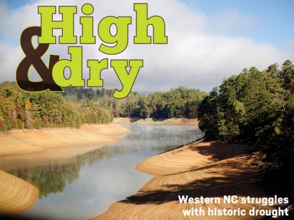 Western NC struggles with historic drought