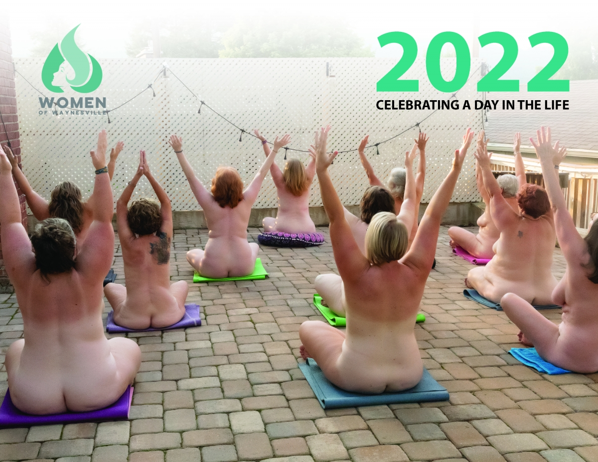 Women of Waynesville's 2022 naked calendar cover.