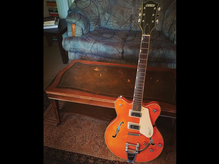 The beloved Gretsch Electromatic.