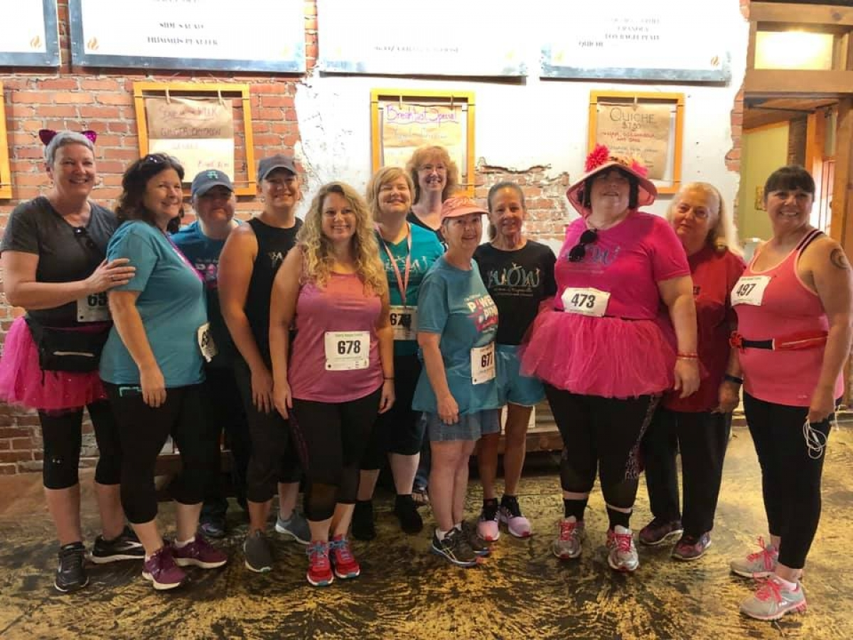 Power of Pink 5K returns to Frog Level