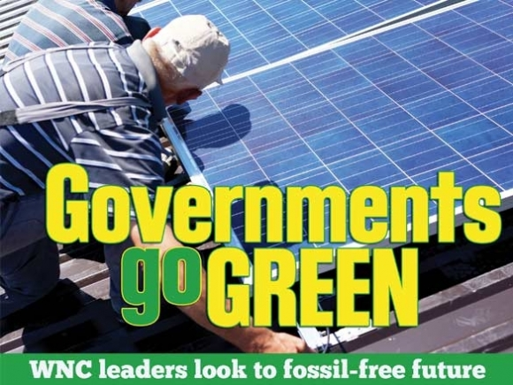 'Trickle-up': The grassroots greening of government