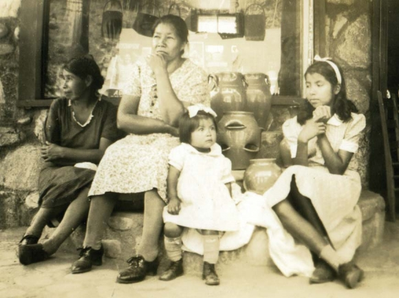 'Mothers and Daughters,' photograph in the collection of Andy Lett.