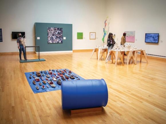 The WCU Fine Art Museum.