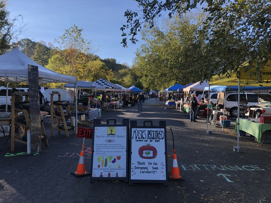 What's New At Haywood Farmers Market?
