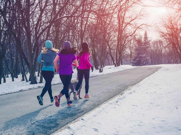 Food and exercise make good medicine