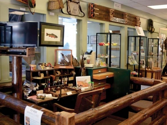 Bryson gets fishy: Fly-fishing museum prepares for expansion
