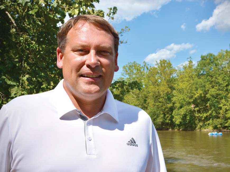 Former NC11 Congressman Heath Shuler is becoming more active in advocating for a strong outdoor economy and green energy. Cory Vaillancourt photo