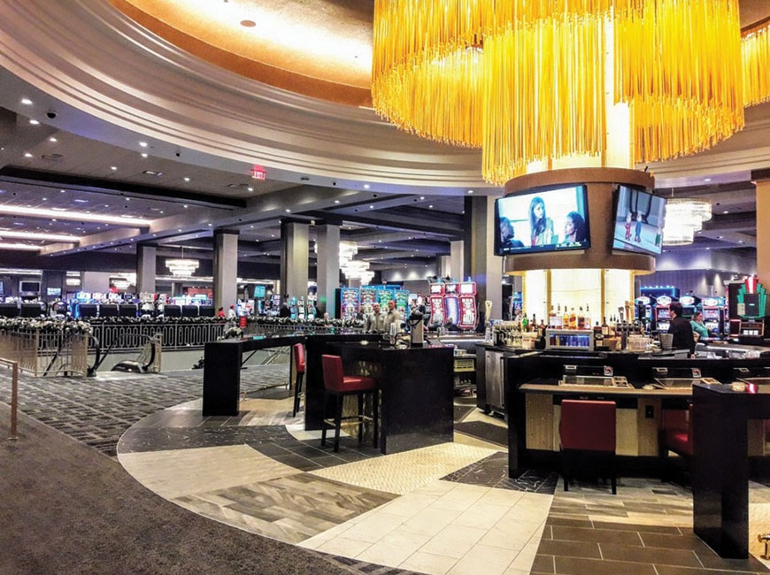 Ceasars Southern Indiana Casino is home to 1,200 slot machines, as well as sports betting, poker and table games. Laurencio Ronquillo photo