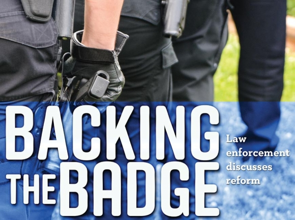 Backing the badge