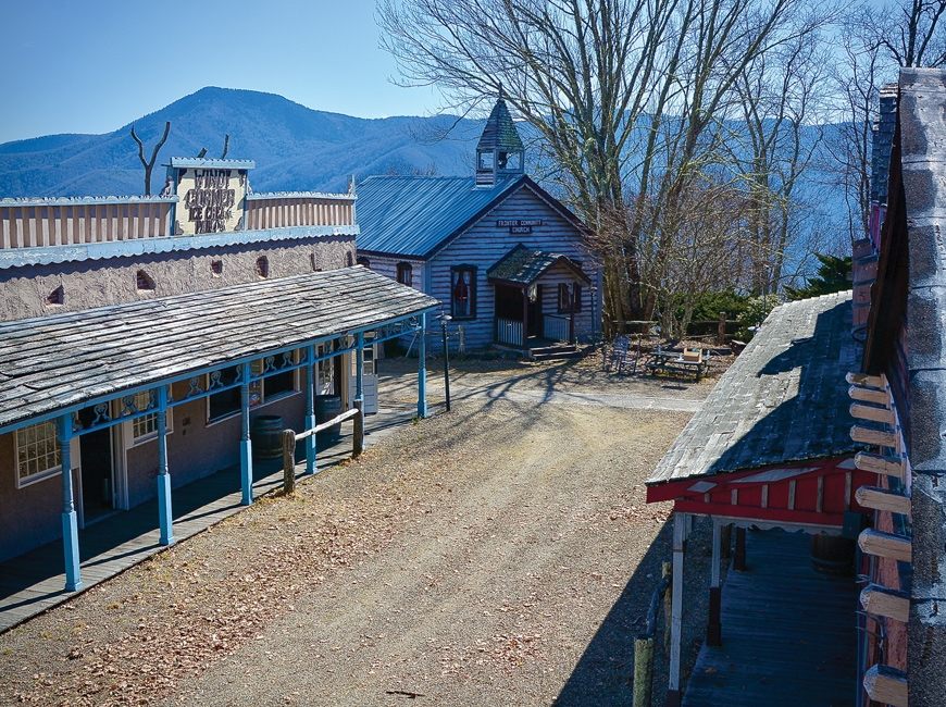 Although weathered, Ghost Town's main street still retains much of its character. Cory Vaillancourt photo