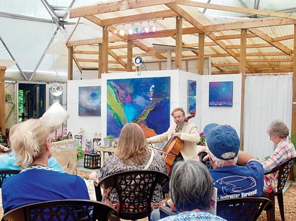 Garden club gets musical treat
