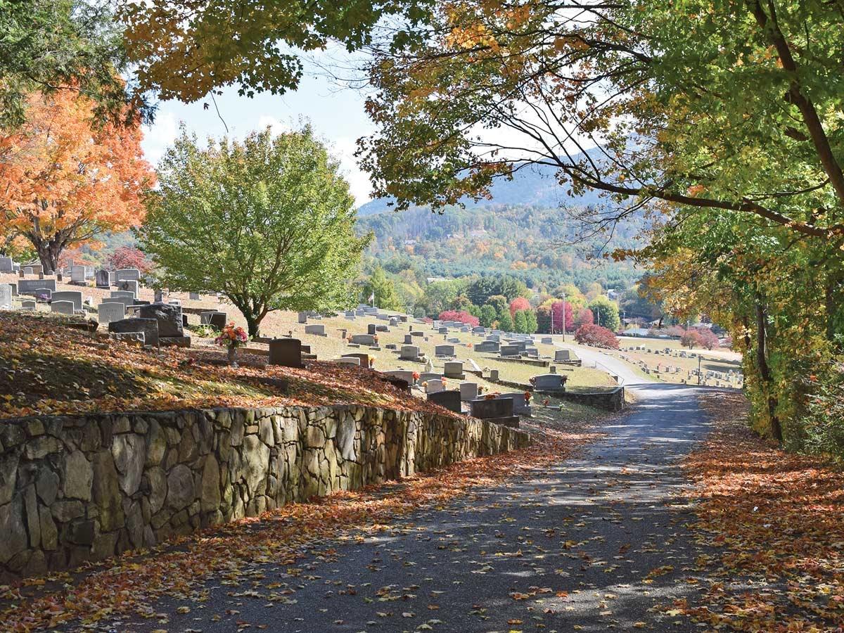 Green Hill Cemetery.