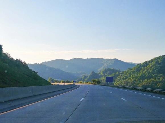 I-26 just west of Asheville.