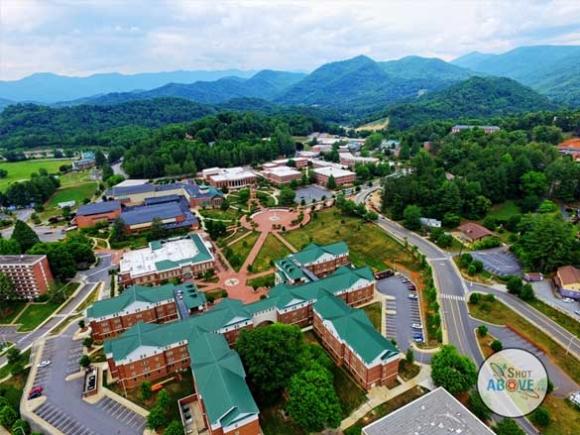 Western Carolina University. A Shot Above photo