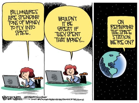 Cartoon, July 21, 2021