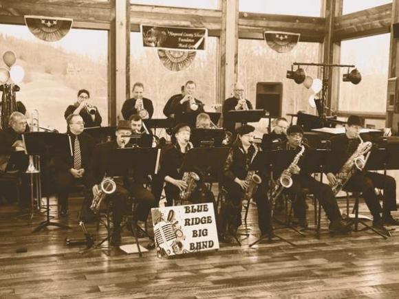 Blue Ridge Big Band to play Folkmoot Friendship Center