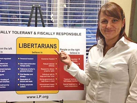 Libertarian Party gaining momentum