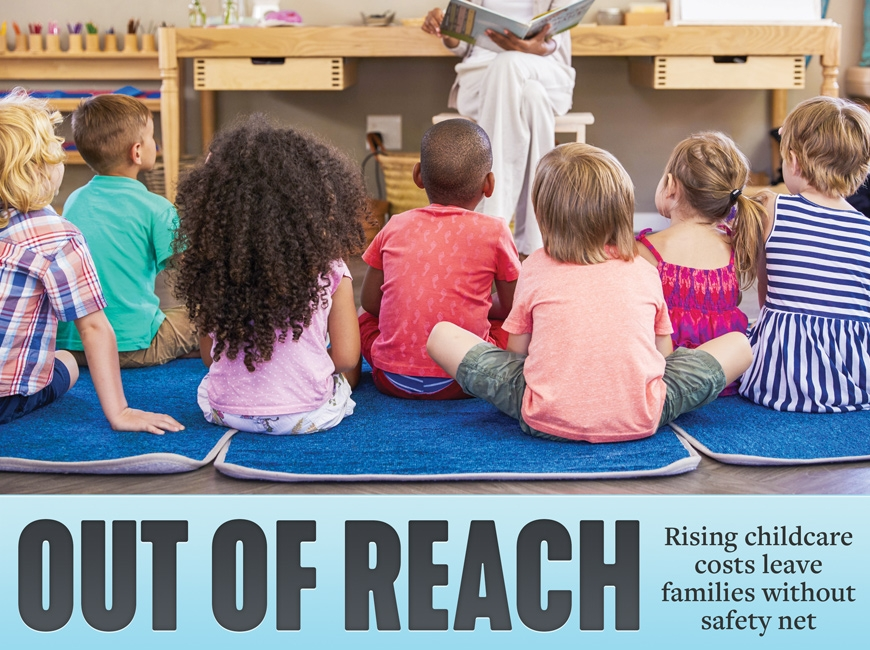 Pandemic exposes fragile childcare system
