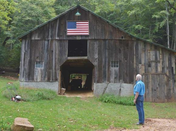 Tom McNish at his Franklin farmhouse. Garret K. Woodward