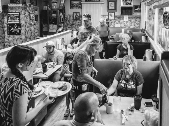 'The Coffee Shop' in downtown Sylva. Quintin Ellison photo