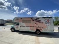 Public educators' association tours 100 counties