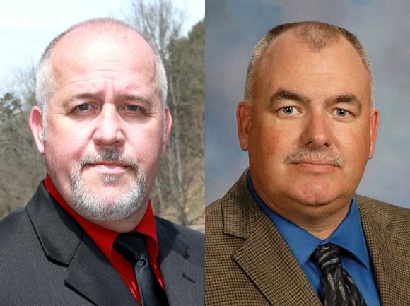 Doug Farmer (left) and Chip Hall (right).