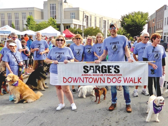 Sarge's Dog Walk returns
