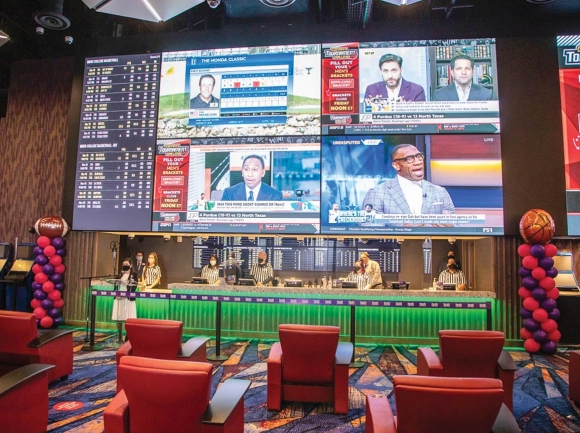 The Book opened as a sports betting venue this March, with locations in both Murphy and Cherokee. Harrah's Cherokee photo