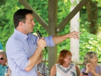 Candidate visits show senate race is heating up