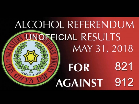 Cherokee votes no on alcohol