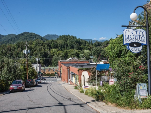 While Sylva's downtown sees significant tourism traffic, its city limits contain few hotels        or other lodging businesses. File photo