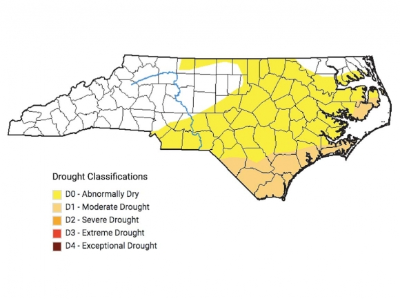 Drought enters N.C. after long absence