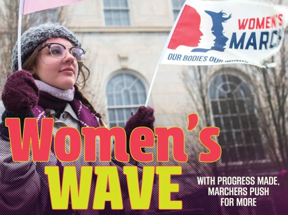 Women's March embarks on third year; Organizers strive for inclusivity for all women