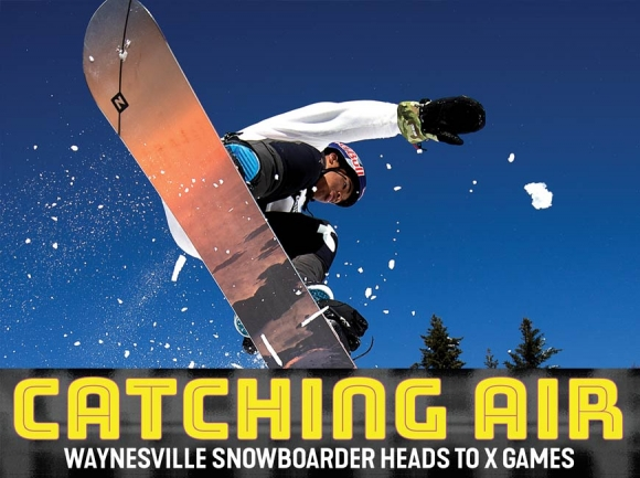 Committed to the slopes: Waynesville snowboarder to appear in international competition