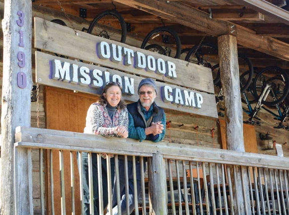 Jamie and Ruffin Shackleford have been running summer camps at Outdoor Mission Camp full-time since 2008, but going forward, the organization will shift its focus to a more supportive community role. Holly Kays photo