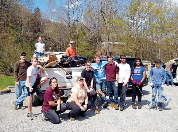 Build community outdoors