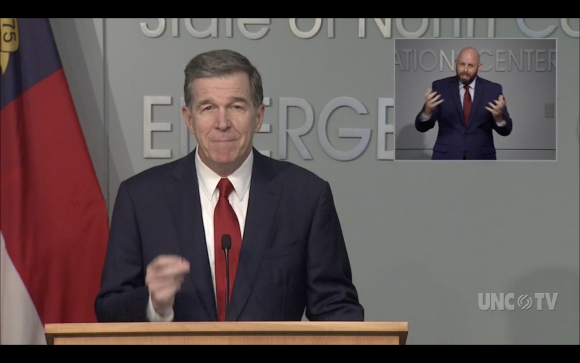 Gov. Roy Cooper announces his plan to reopen schools safely.