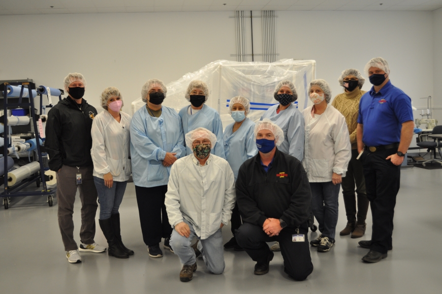 Haywood EMS partners with HVO on COVID pod production