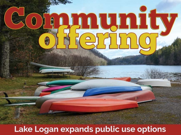 Opening the gates: Lake Logan opens up to public recreation