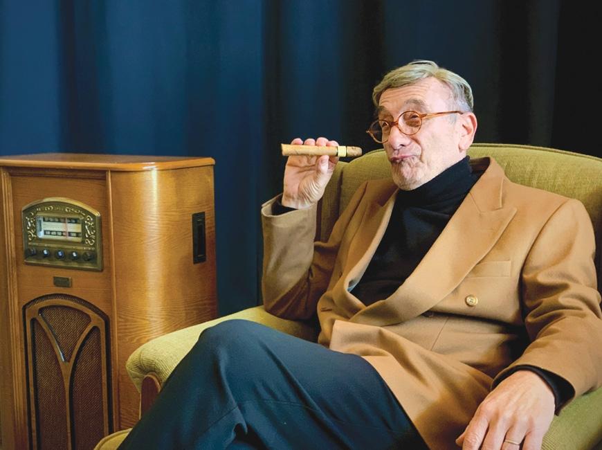 Pasquale LaCorte as George Burns.