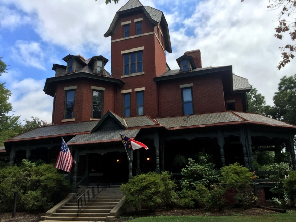 The office of North Carolina's lieutenant governor is in the historic Hawkins-Hartness house, in Raleigh.
